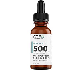 10xPURE™ Full Spectrum CBD Oil Drops – 500mg